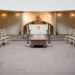 Skogskapellet borgerlig begravning, Lavendla