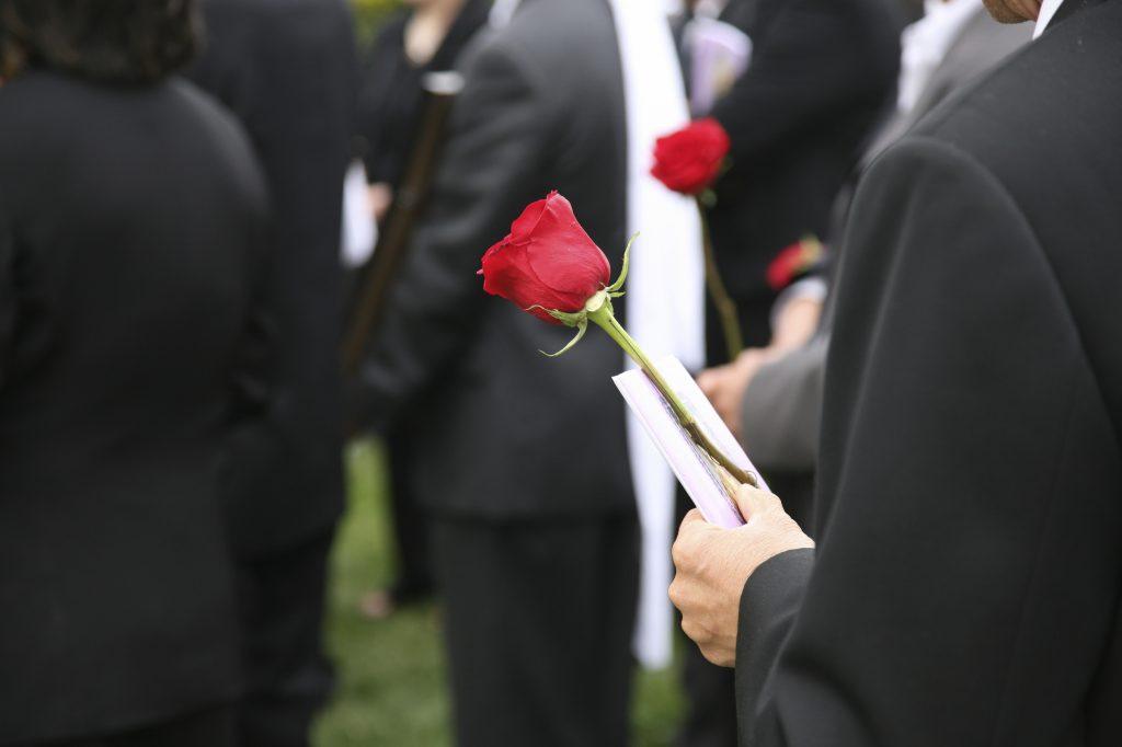 fonder till begravning