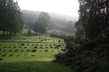 Kvibergs kyrkogård i Göteborg
