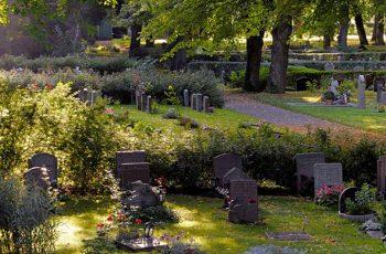 Kyrkogårdar och begravningsplatser Lavendla