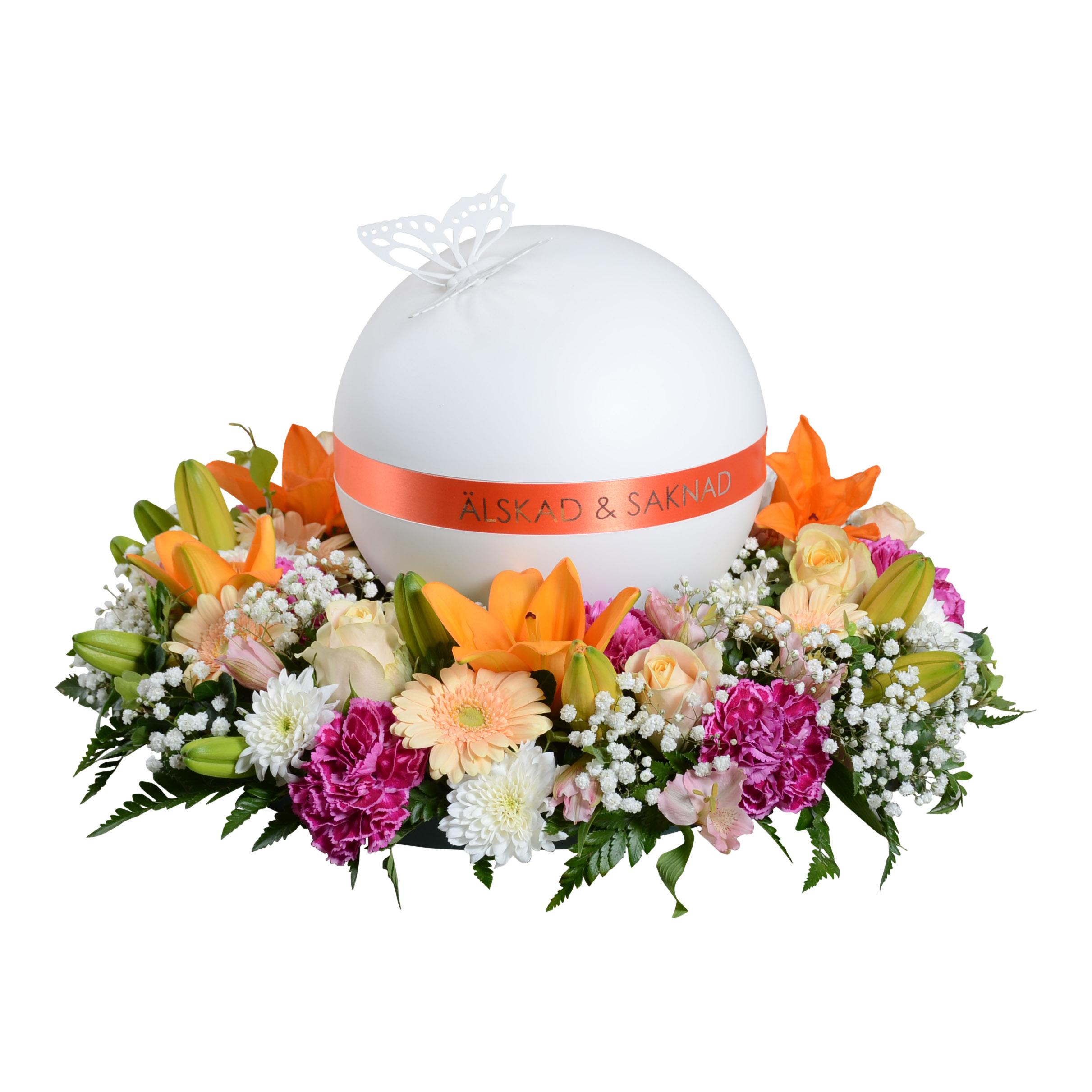 istället för blommor till begravning