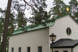 Kapellet Skogskyrkogården Skillingaryd
