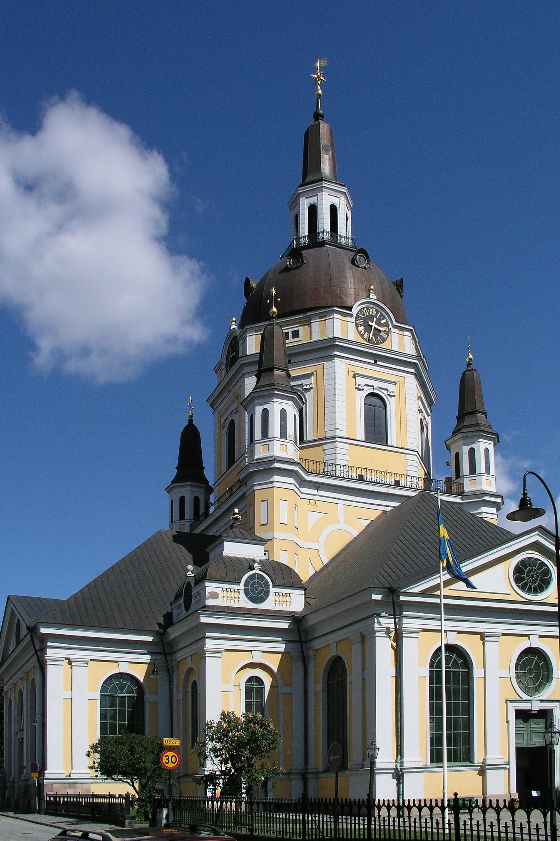 Katarina kyrka steg for