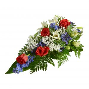 begravningsblommor, sorgbukett4