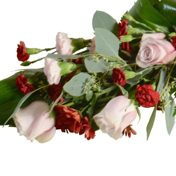 begravningsblommor, sorgbukett7B