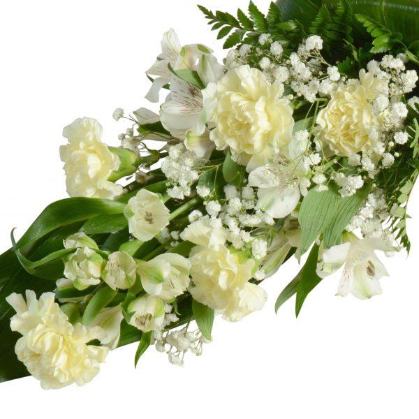 begravningsblommor, sorgbukett8B