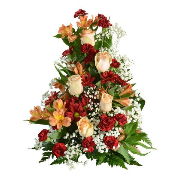 begravningsblommor, sorgdekoration2