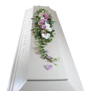 villemo kistdekoration begravningsblommor