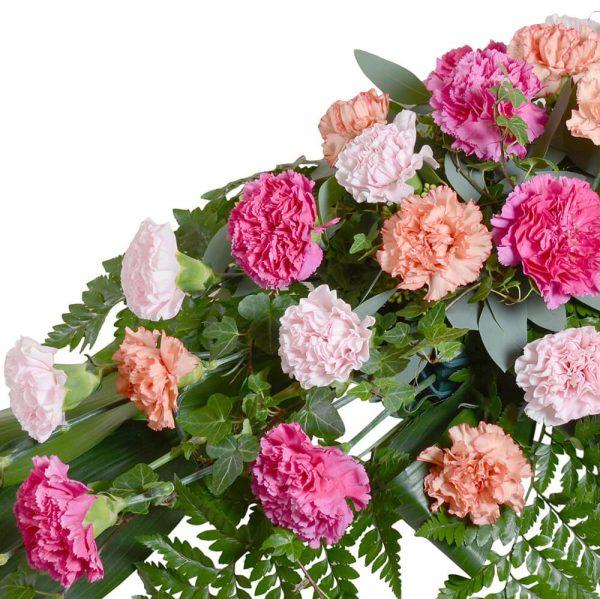 lobus1 sorgdekoration begravningsblommor lavendla