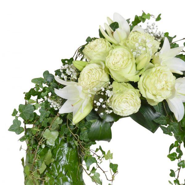 chairo1 begravningskrans begravningsblommor lavendla