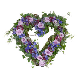 Anisia begravningsblommor hjärta lavendla