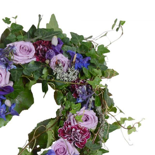 Anisia1 begravningsblommor hjärta lavendla