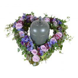 borea urndekoration begravningsblommor lavendla