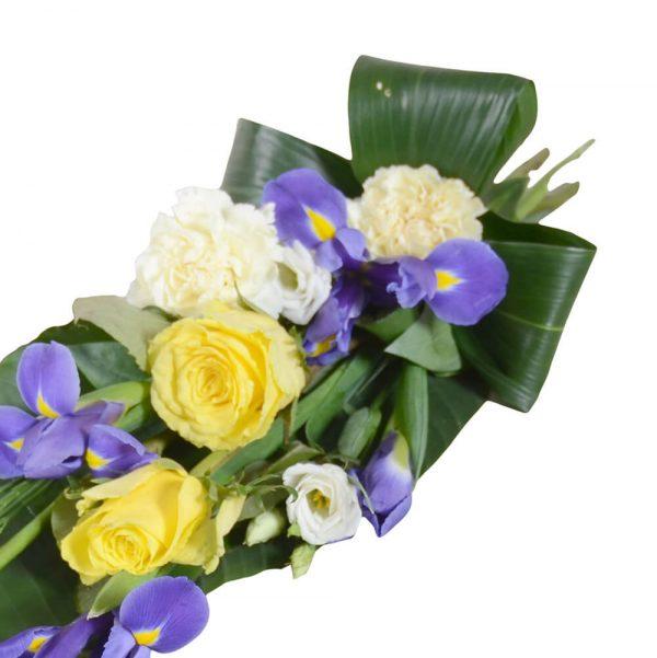 flavi1 begravningsblommor sorgbukett lavendla