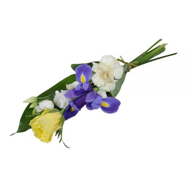 dana handbukett begravning lavendla