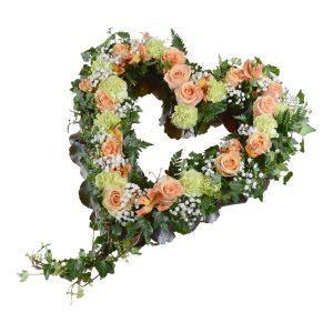 barsia begravningsblommor hjärta lavendla