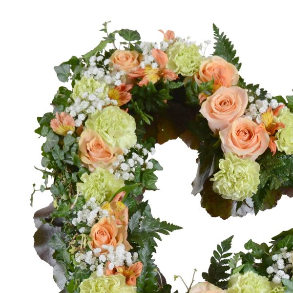 barsia1 begravningsblommor hjärta lavendla