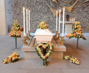 restriktioner begravning